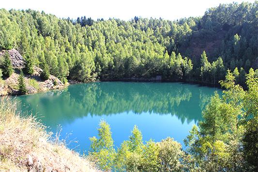 Jezera a řeky